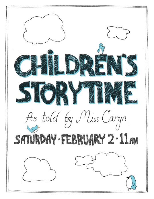 Storytime Poster Feb 2
