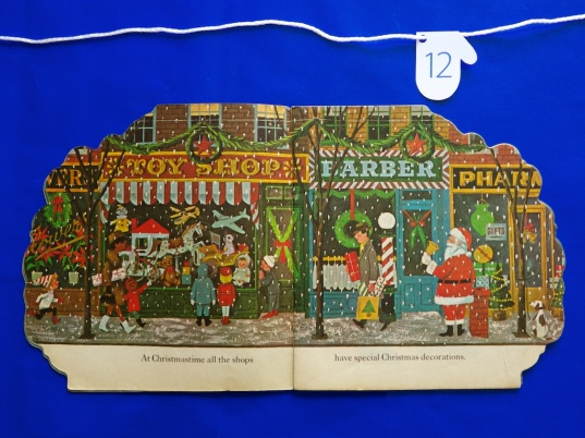 The Christmas Tree Book inside spread