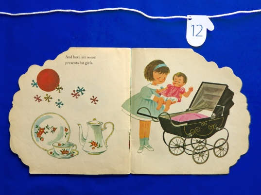 The Christmas Tree Book inside spread two