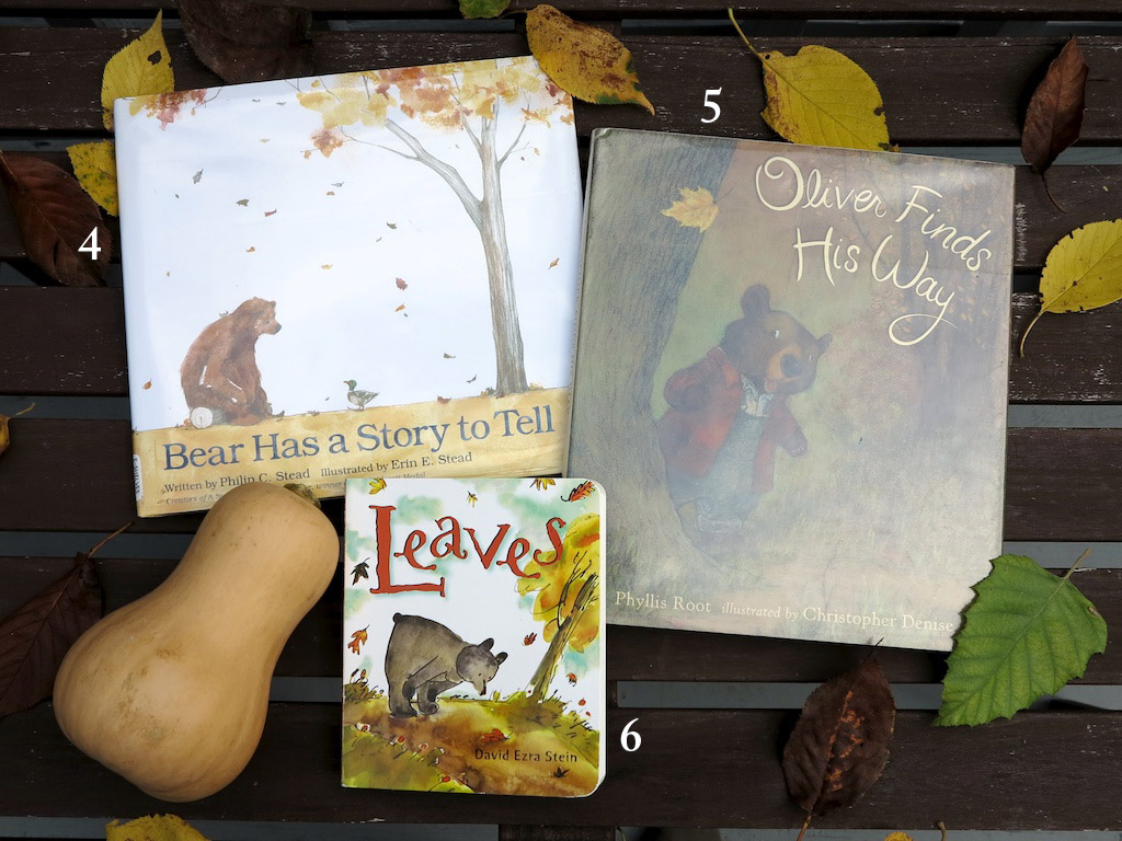 Picture of Bear Has A Story To Tell, Oliver Finds His Way and Leaves books