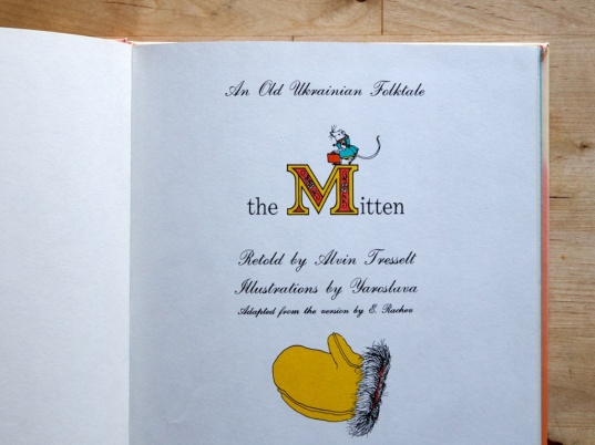 The Mitten title page